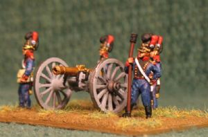 15mm, Napoleonic Bavarian Foot Artillery 8pdr AB figures